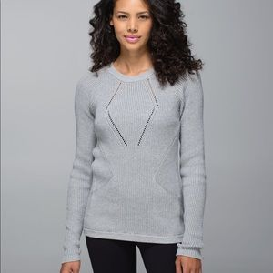 Lululemon the sweater the better